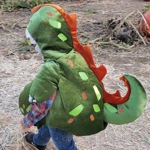 Babystyle dinosaur Halloween costume size 6-12+mos